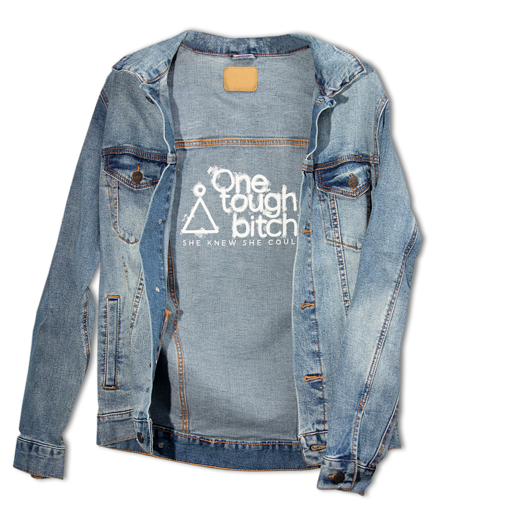 The Inner Bitch Jean Jacket | One Tough Bitch