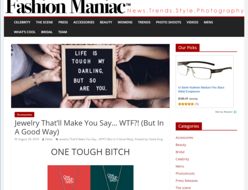 "Fashion Maniac – ""Jewelry That'll Make You Say WTF (But In A Good Way)"""